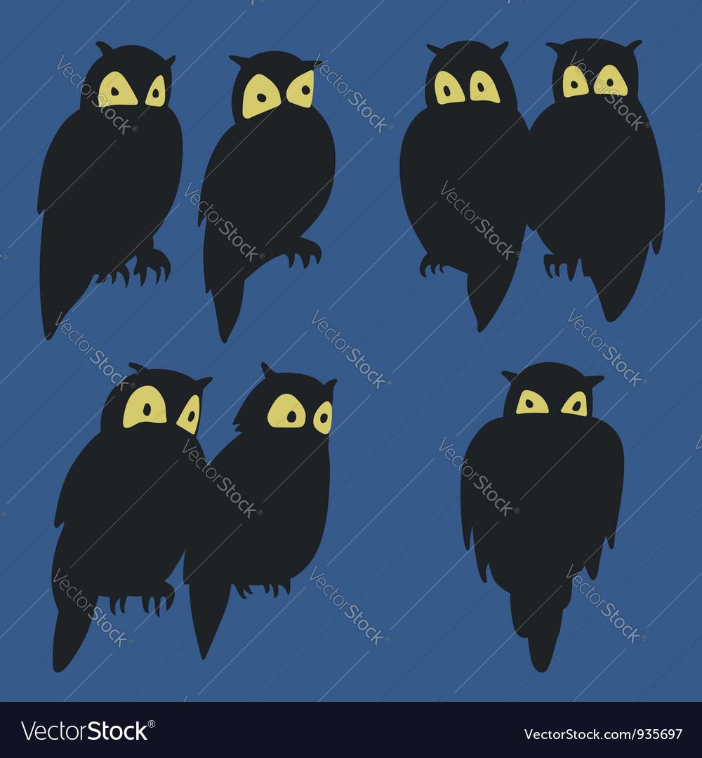 Owls vector   Price: 1 Credit (USD $1)
