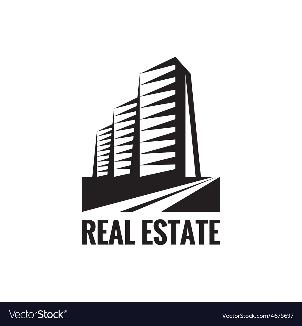 Real estate - logo concept design vector | Price: 1 Credit (USD $1)