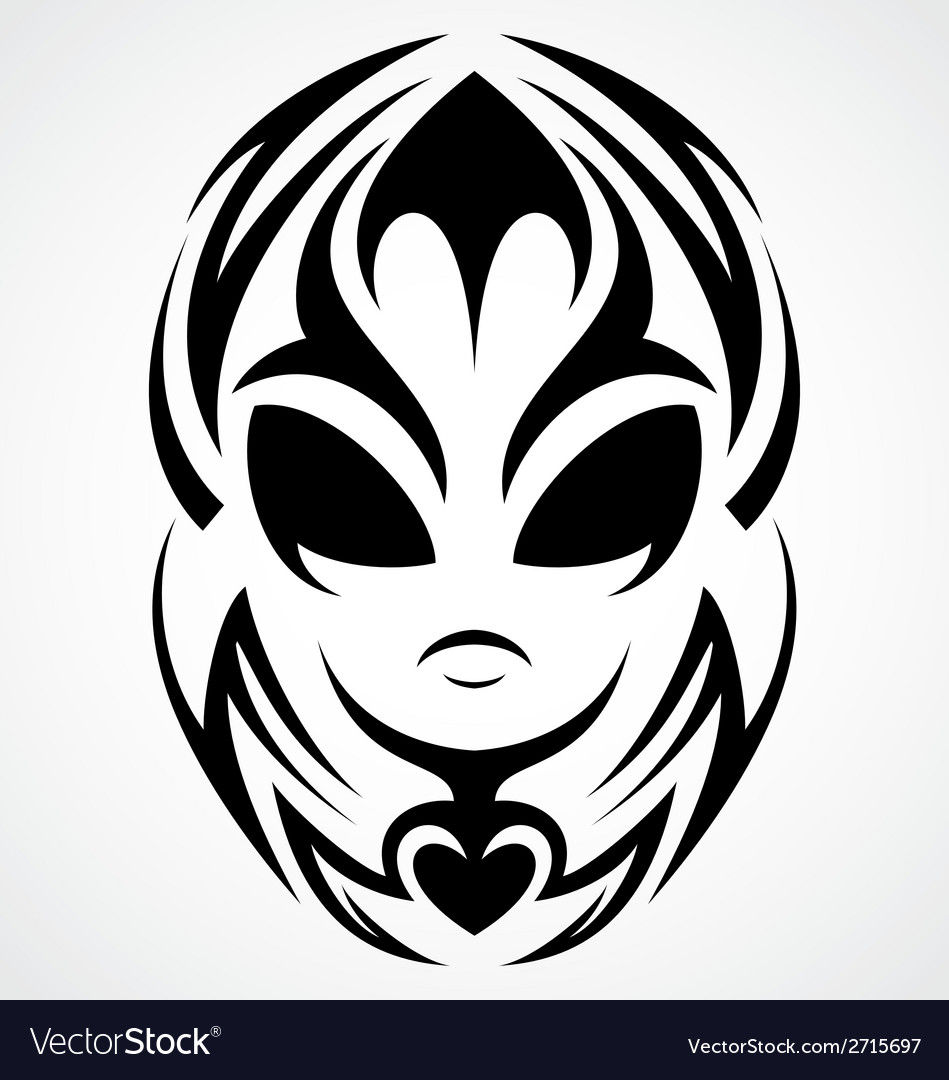 Tribal aliens vector | Price: 1 Credit (USD $1)