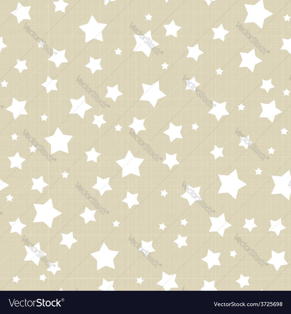 Seamless stars pattern vector | Price: 1 Credit (USD $1)