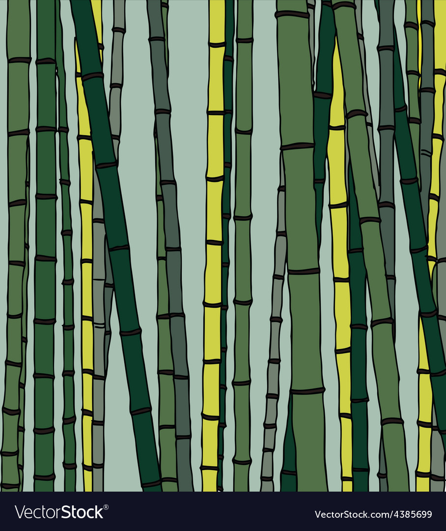 Bamboo pattern vector | Price: 1 Credit (USD $1)