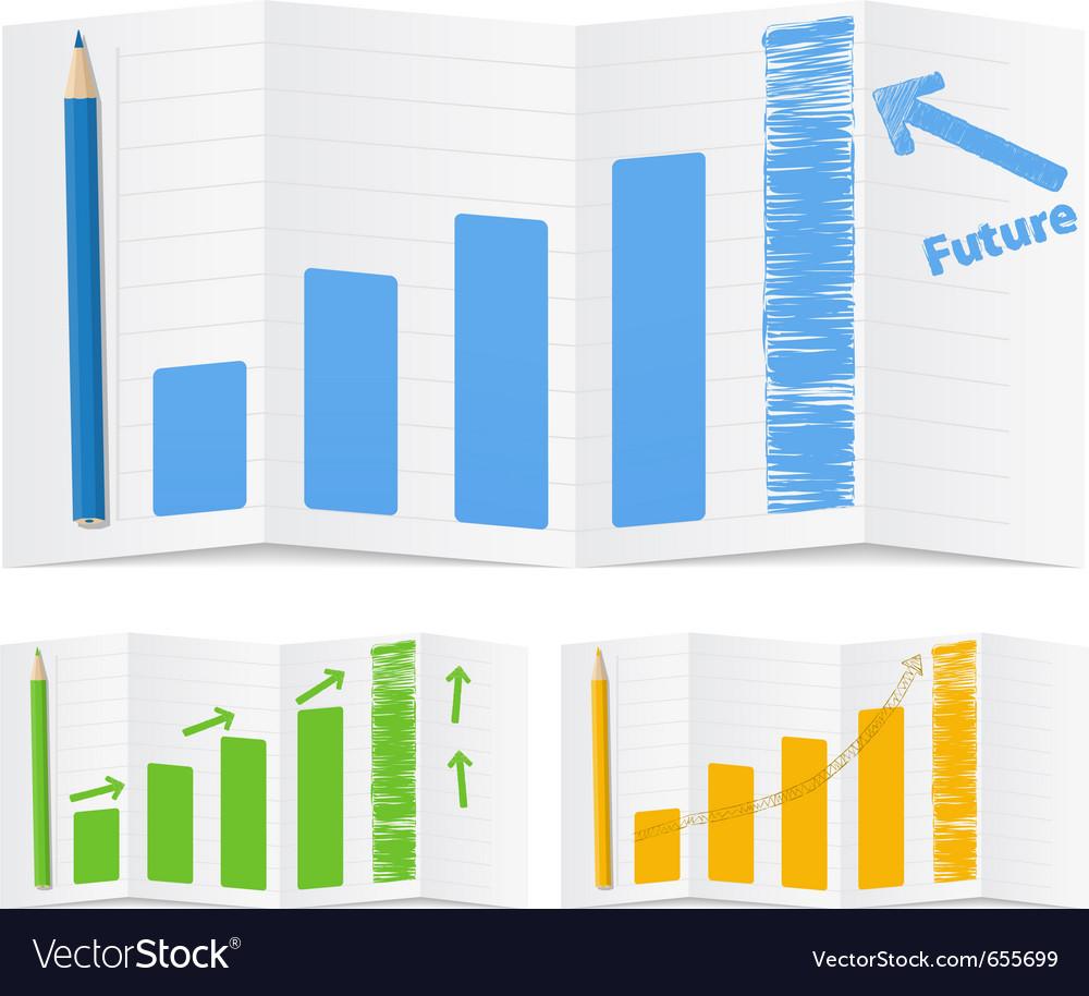 Bar graphs vector | Price: 1 Credit (USD $1)