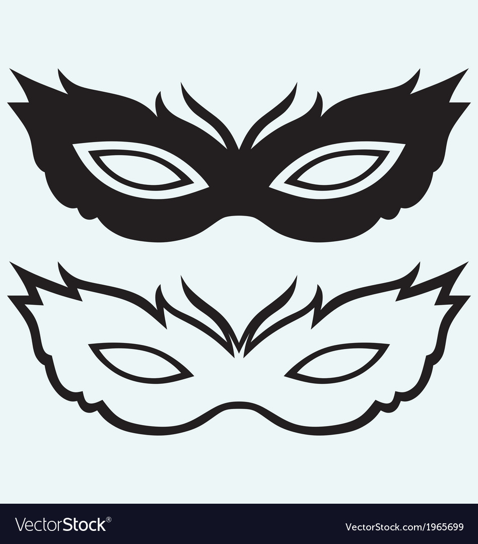 Masks for masquerade costumes vector | Price: 1 Credit (USD $1)