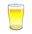 Pint glass vector