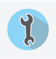 Wrench color icon vector