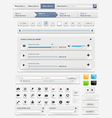 Web design elements set3 vector