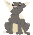 French bulldog dog cartoon vector