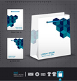 Abstract bag design corporate identity design for vector