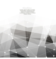 Monochrome abstract background with copyspace vector