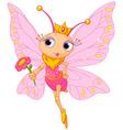 Beautiful butterfly princess vector