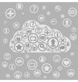 Cloud apps vector