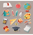 School and education icons symbols objects set vector
