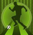 Soccer vintage design vector