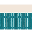 Blue fence vector