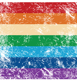 Gay rights flag vector