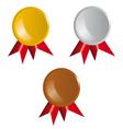 Awards ribbons vector