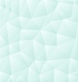 Light polygon background vector