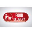Food delivery design vector