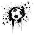 Football grunge vector