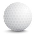 Ball for golf vector