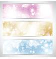 Christmas lights banners 2111 vector