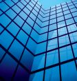 Abstract office building design vector