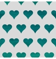 Seamless heart background vector