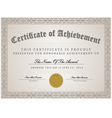 Certificate template concept vector