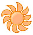 Sun sign vector