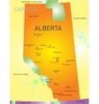 Alberta province vector