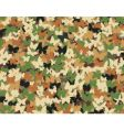 Butterfly camouflage vector