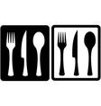 Kitchen utensil icons vector