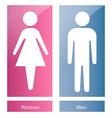 Bathroom symbols vector