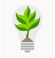 Green energy ecological concept vector