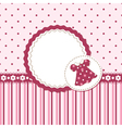 Baby girl background vector