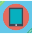 Tablet icon -  flat design vector
