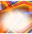 Abstract color striped background vector