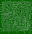 Circuit board background vector