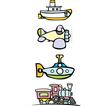 Toy transportation vector