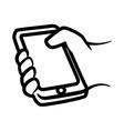 Smartphone design vector