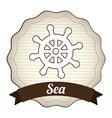 Maritime design vector