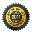 Best of the best 2011 label vector