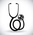 Stethoscope design vector