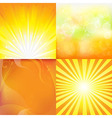 Sunburst backgrounds vector