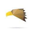 Eagle head abstract isolated vector