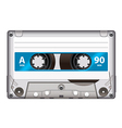 Cassette tape isolated vector