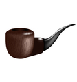 Smoking pipe vector