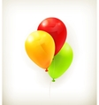 Toy balloons vector