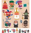 Medieval people 2 vector