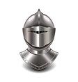 Knight helmet isolated vector